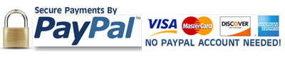 PayPal and Visa Cards