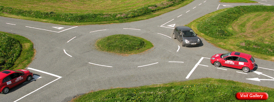 Munster Driving Campus Track Roundabout
