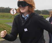 Transition Year Students with Beer Goggles